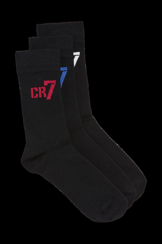 Sorte strømper – 3-pak CR7 Undertøj til Børn i Sort