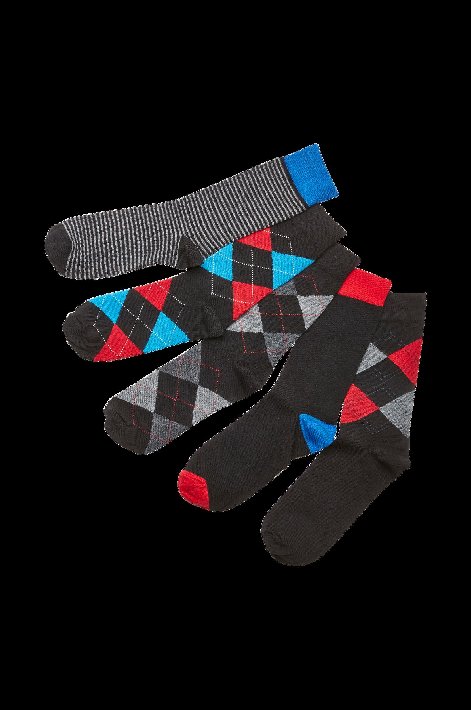 Stribede strømper Happy Socks Undertøj til Mænd i Hvid/blåstribet