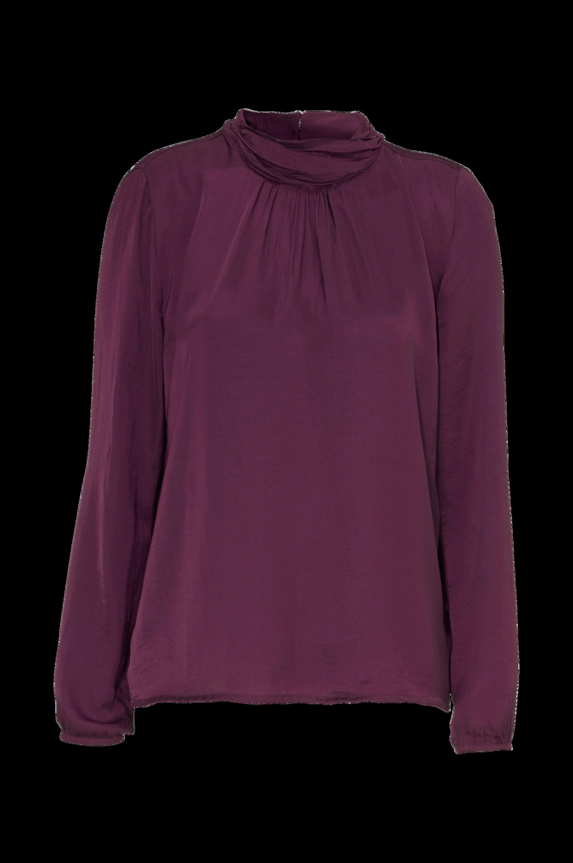 Bluse Saint Tropez Skjorter & bluser til Kvinder i Vinrød