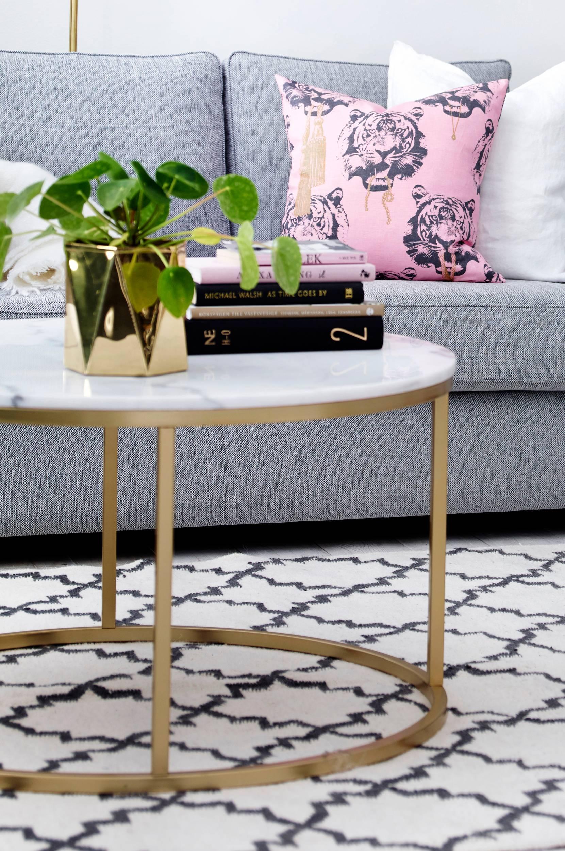 Accent-sohvapöytä, ø 85 cm