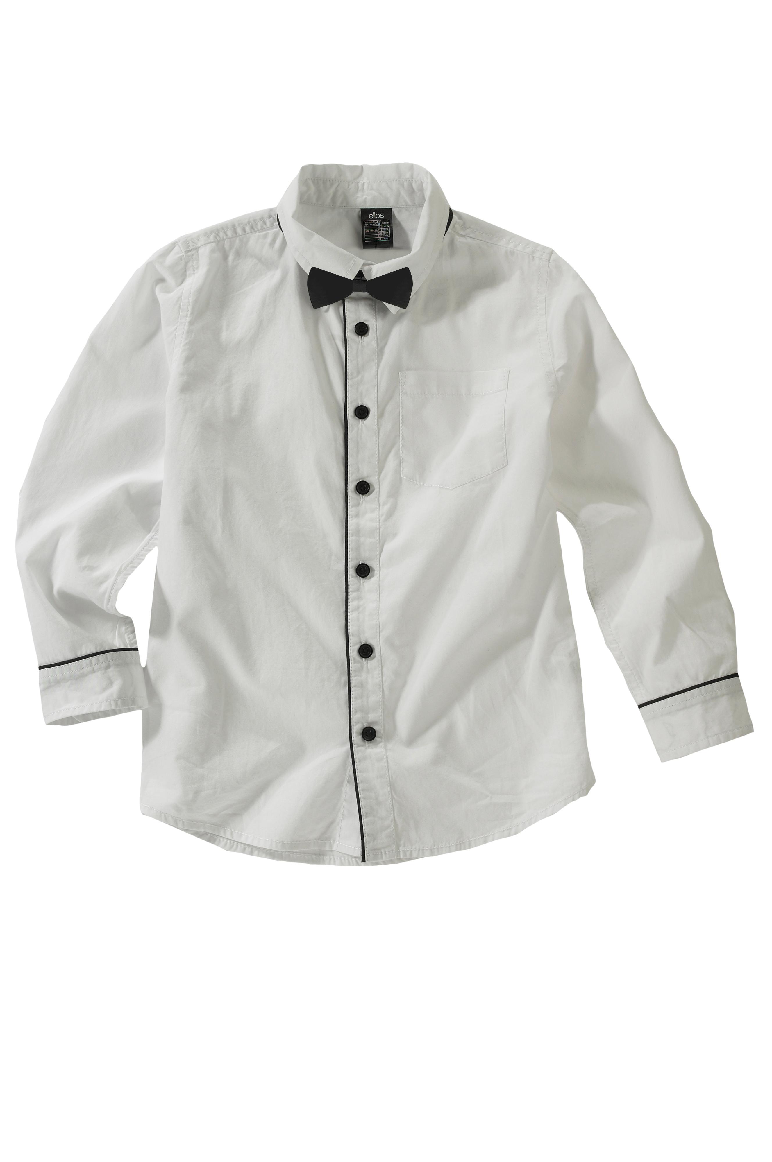Ellos Kids Skjorte med sløyfe Hvit Skjorter Ellos.no