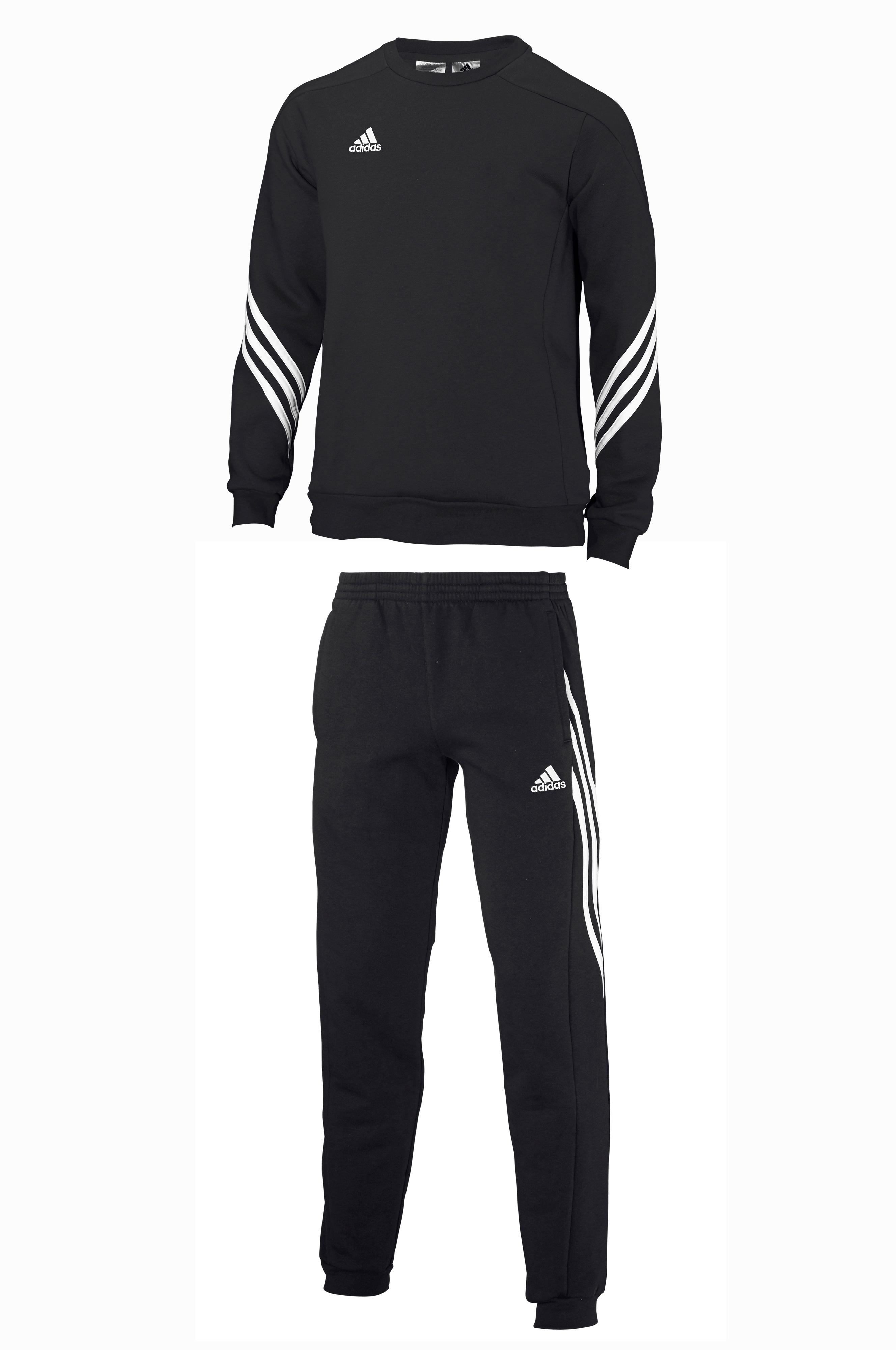 adidas Sport Performance Sere14 SWT SU Y -collegepusero + housut - Musta -  Lapset - Ellos.fi 46d4f73fc9