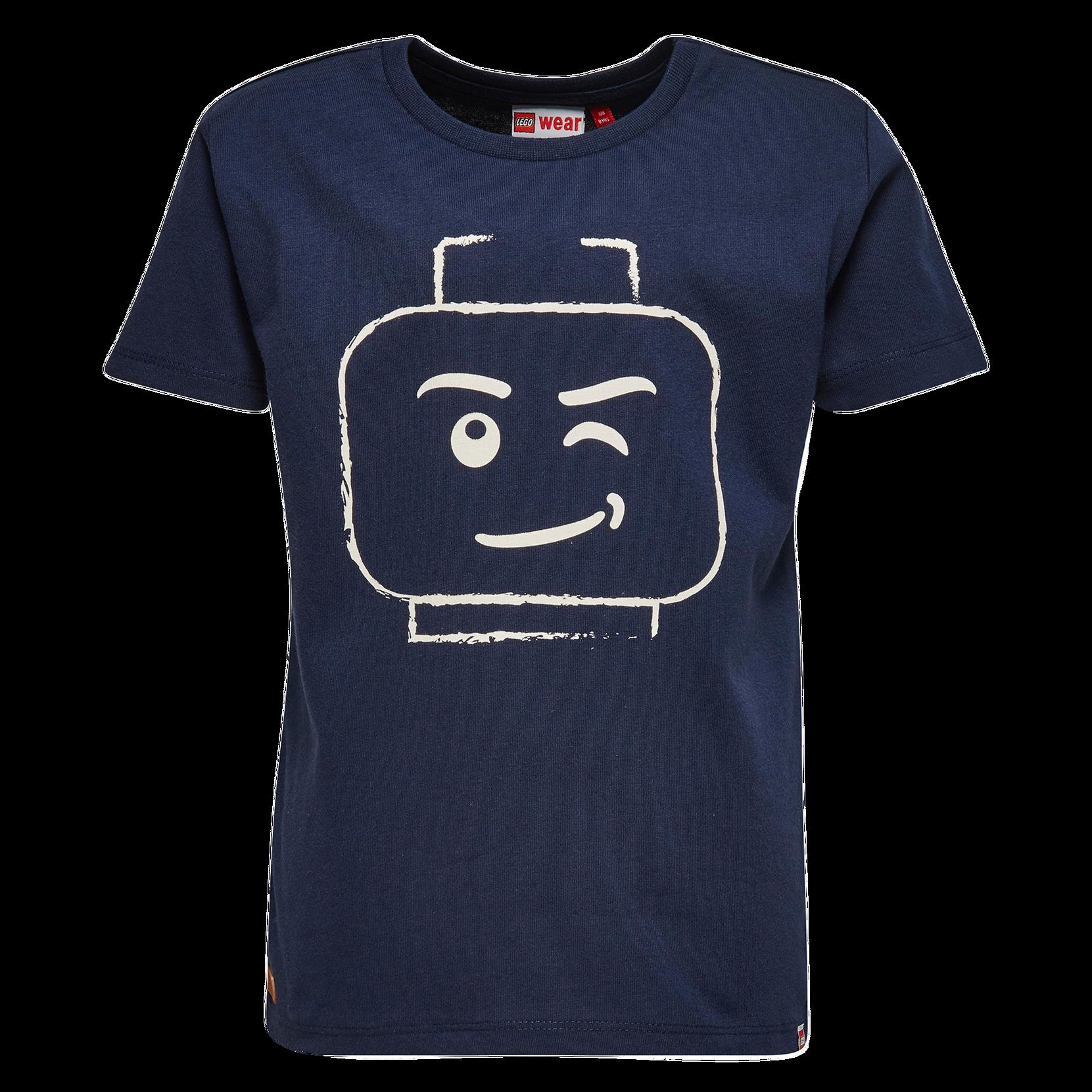 T-shirt Teo 210 LEGO Toppe & tank-toppe til Børn i Mørkeblå