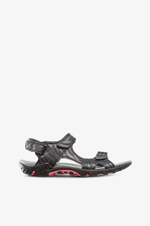 Sportssandal Saphire Bagheera Sandaler & sandaler med hæl til Kvinder i Sort/grå
