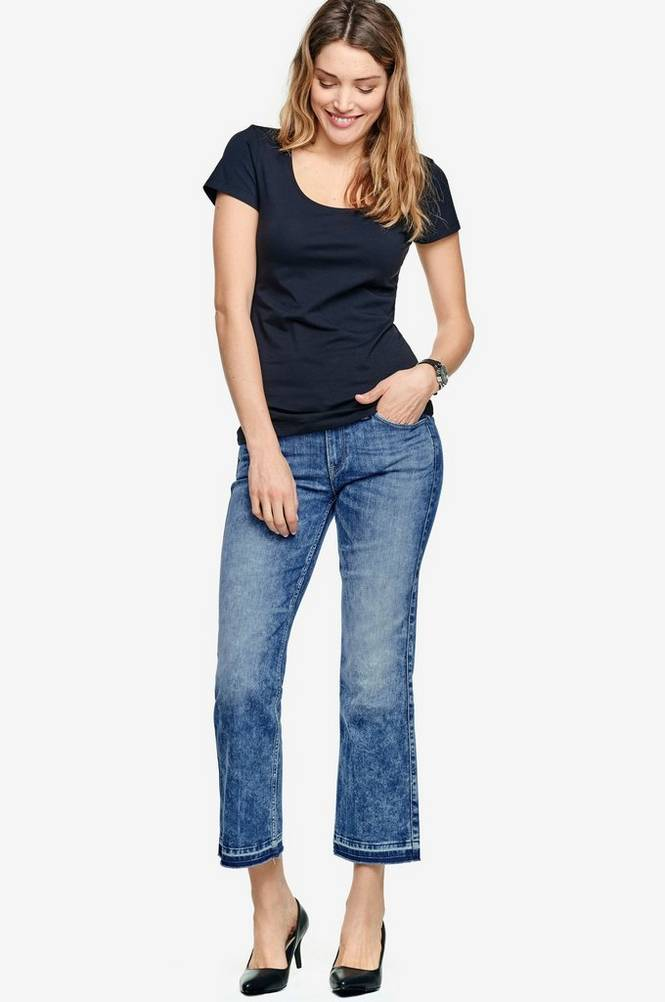 Lee Jeans Cropped Boot