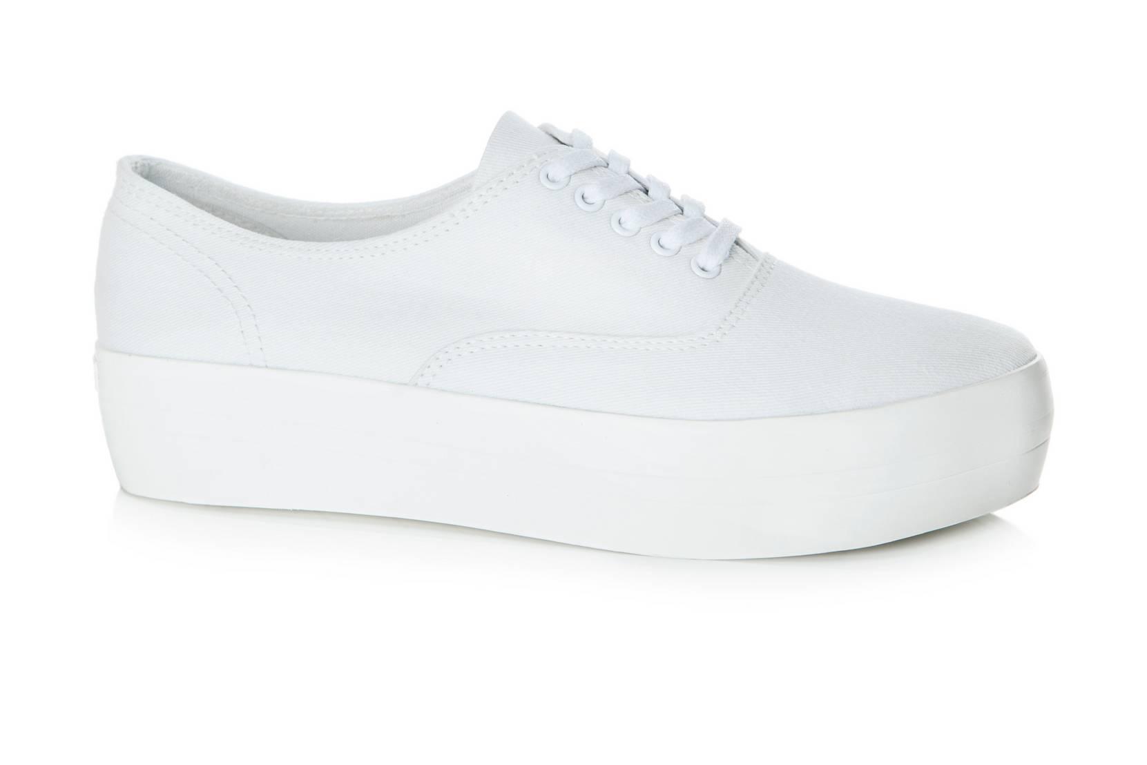 Sneakers Keira med plateau Vagabond Sneakers til Kvinder i Hvid