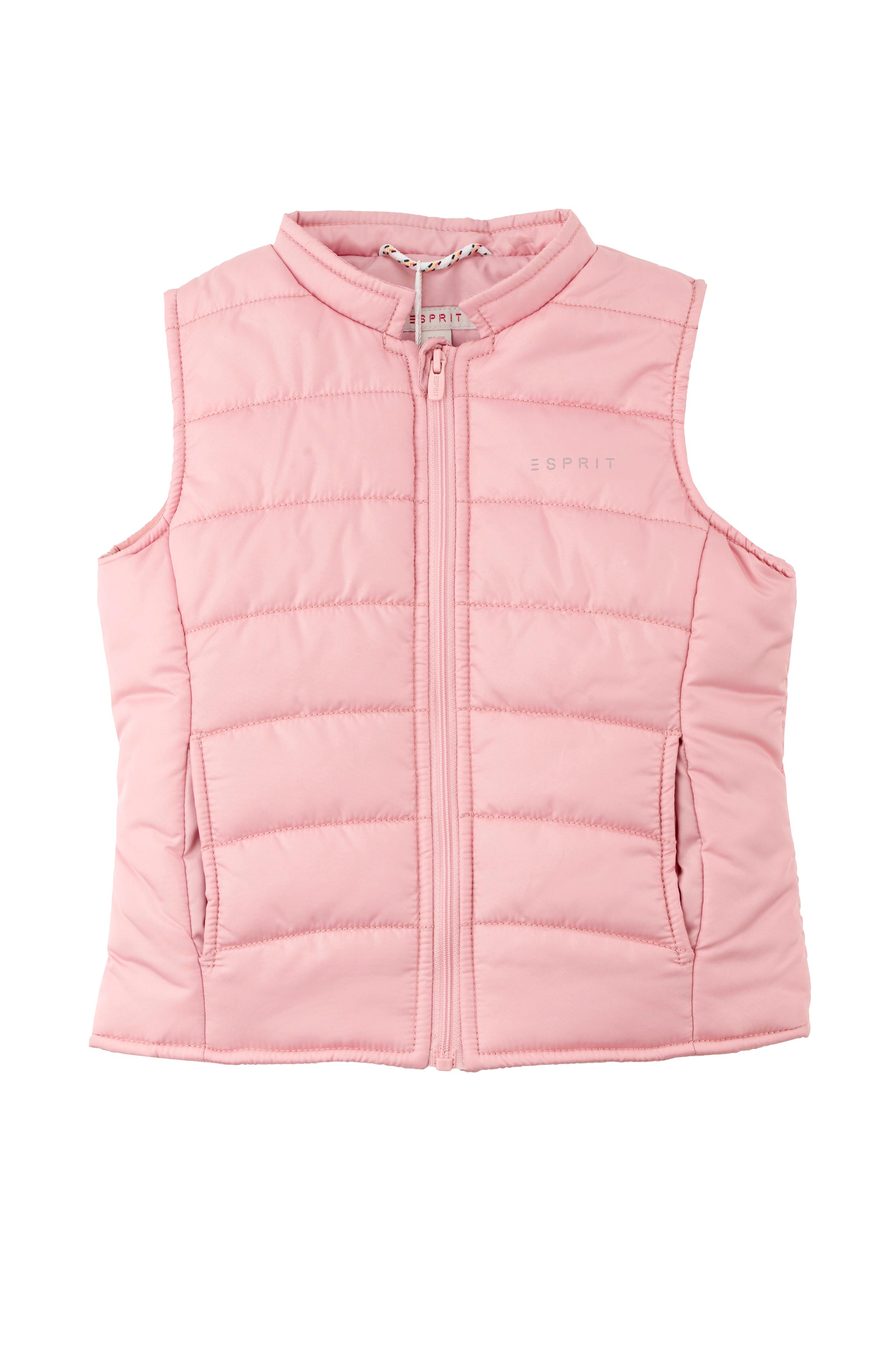 50e15c9e Esprit Quiltet vest - Rosa - Barn - Ellos.no