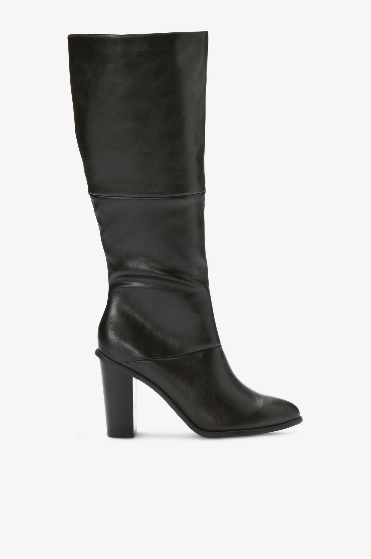 Støvle med spids tå Ellos Støvler til Kvinder i Sort