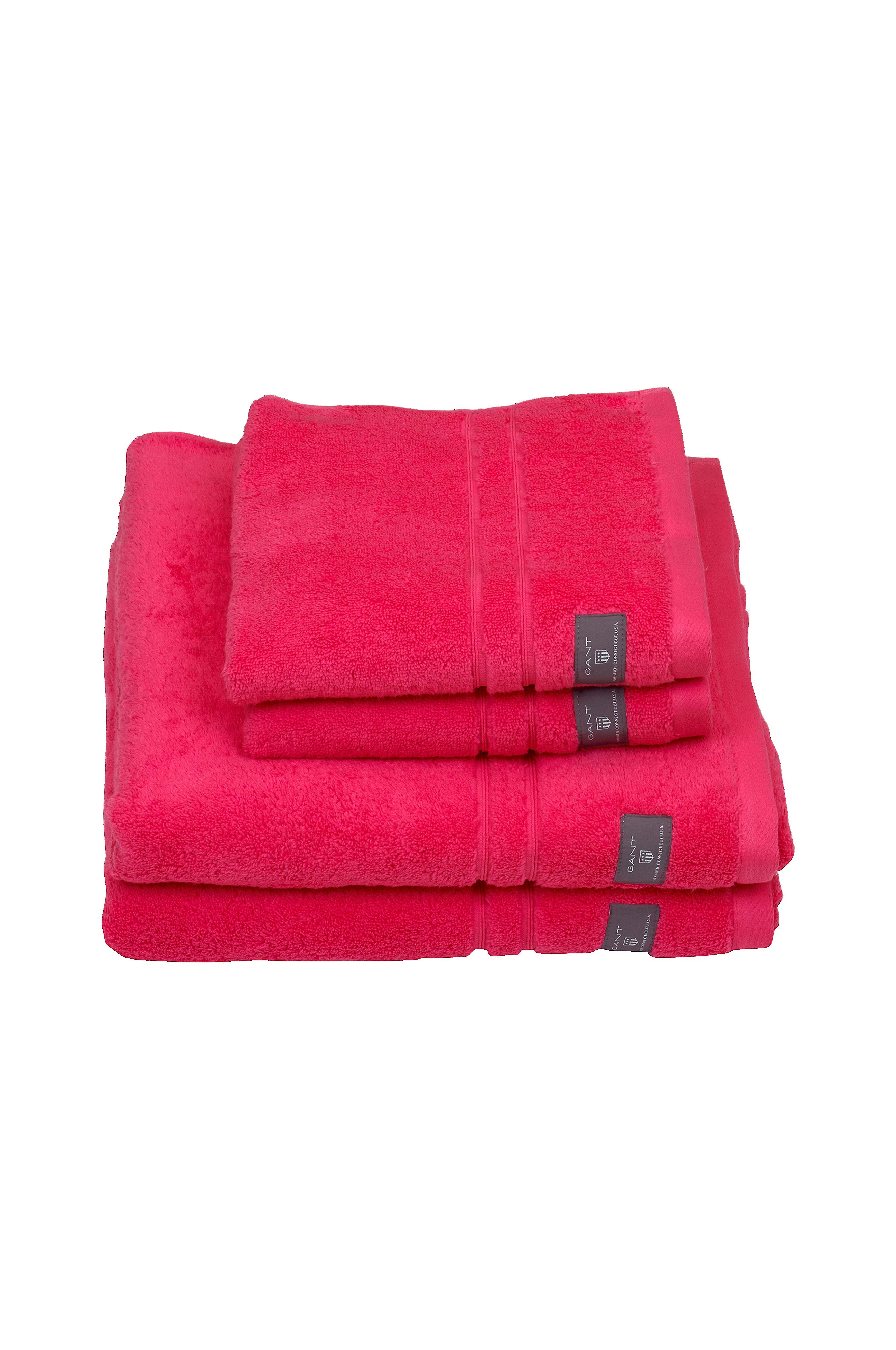 Bra bästa priserna i lager Gant Home Handduk Premium Terry Towel - Rosa - Hem & inredning ...