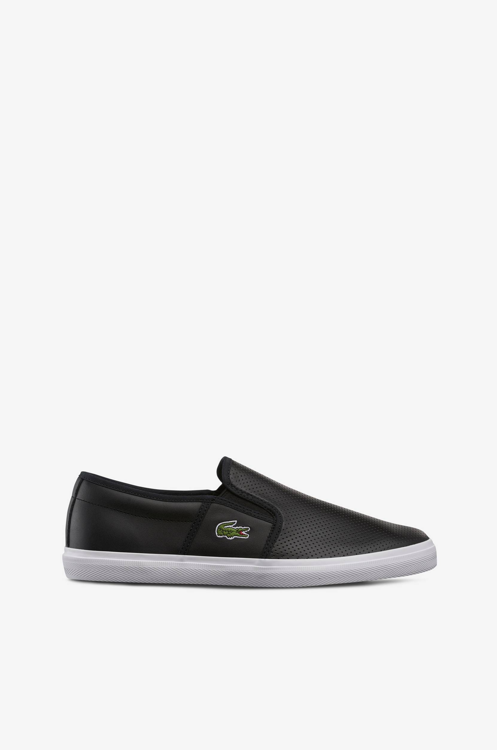 Sneakers Gazon slip-on Lacoste Sneakers til Mænd i Sort