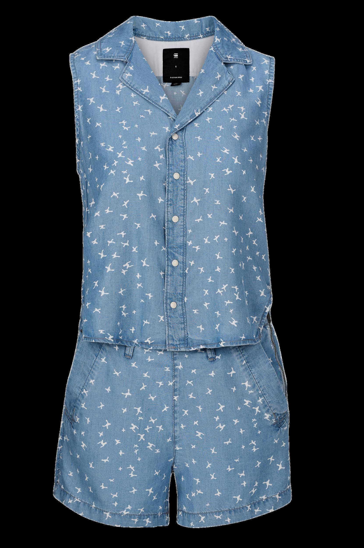 Buksedragt Bronson G-Star Jumpsuits & buksedragter til Kvinder i Lyseblå