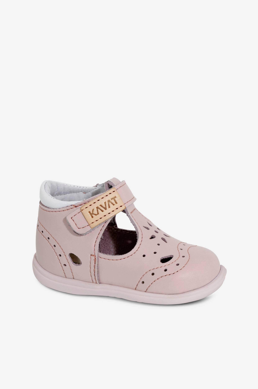 c216d1353eb3 Køb Babysandal Ängsskär Kavat Babysko i Rosa til Børn i en online modebutik