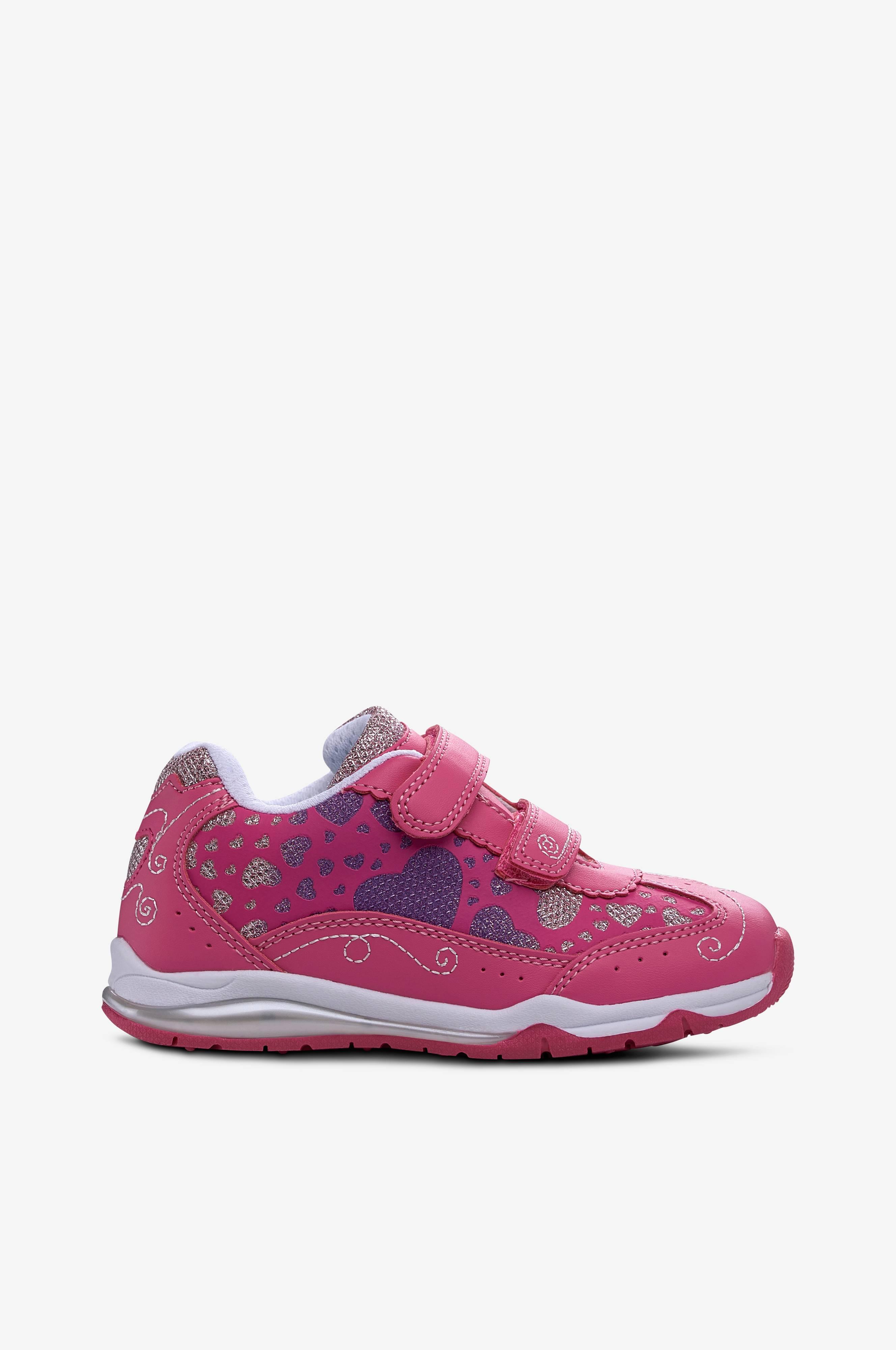 Wildflower Sneakers med blinkande sula Rosa Barn Ellos.se