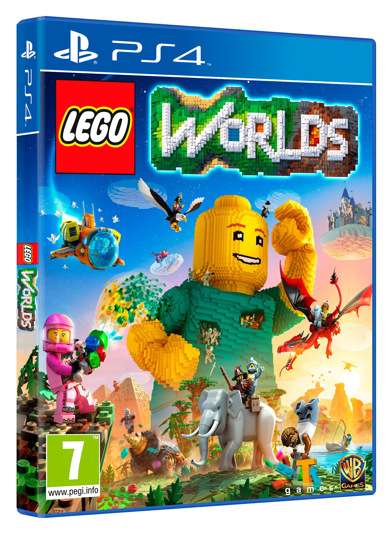 Lego Worlds LEGO Spil til Boligen i Playstation 4