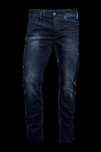 3301 Siro Black -stretchfarkut, slim fit