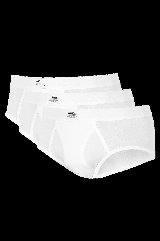 Basic-alushousut, 3/pakk. Etuhalkiolliset