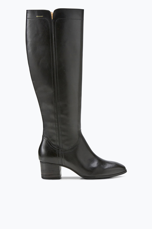 Skindstøvle Sandra Gant Støvler til Kvinder i Sort