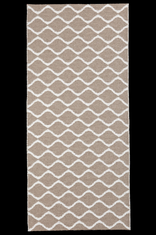 Horredsmattan - Plastmatta Wave 70x200 cm - Natur