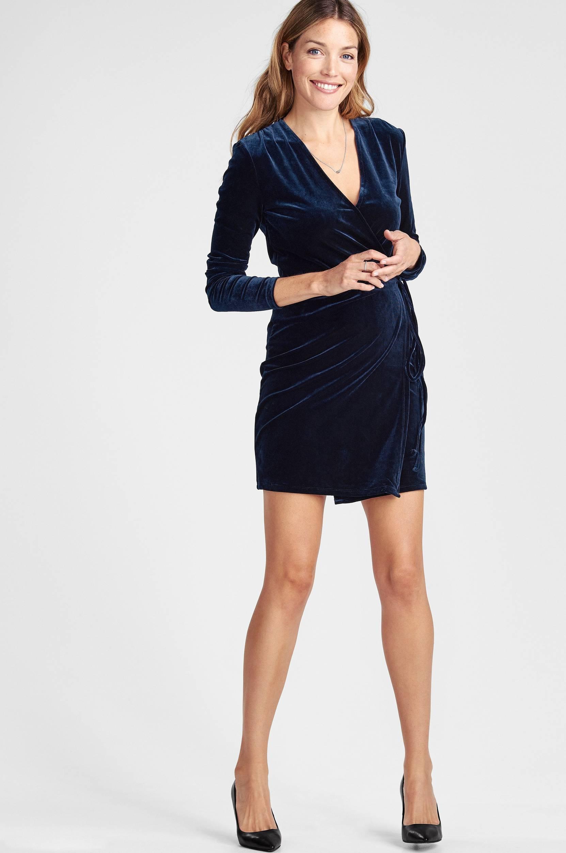 Velvetine Short Dress -mekko