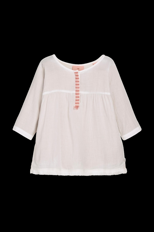 Tunika med 3/4-langt ærme Scotch & R'belle Skjorter til Børn i Hvid