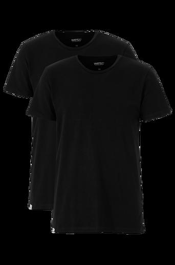 Basic-T-paidat, 2/pakk., slim fit