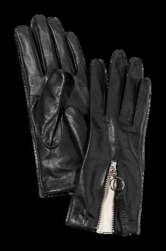 The zip glove -nahkakäsineet
