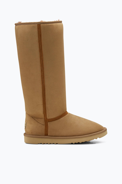 Støvler Uma varmforet Esprit Støvler til Kvinder i Beige