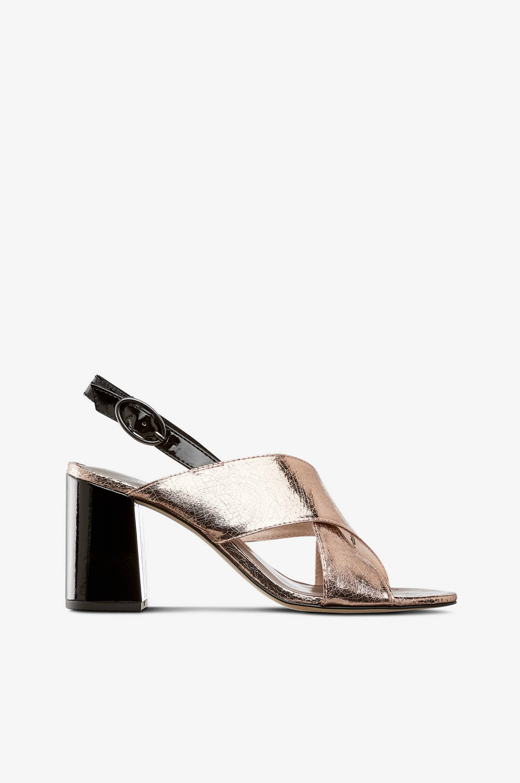 Ruusukullanväriset sandaletit