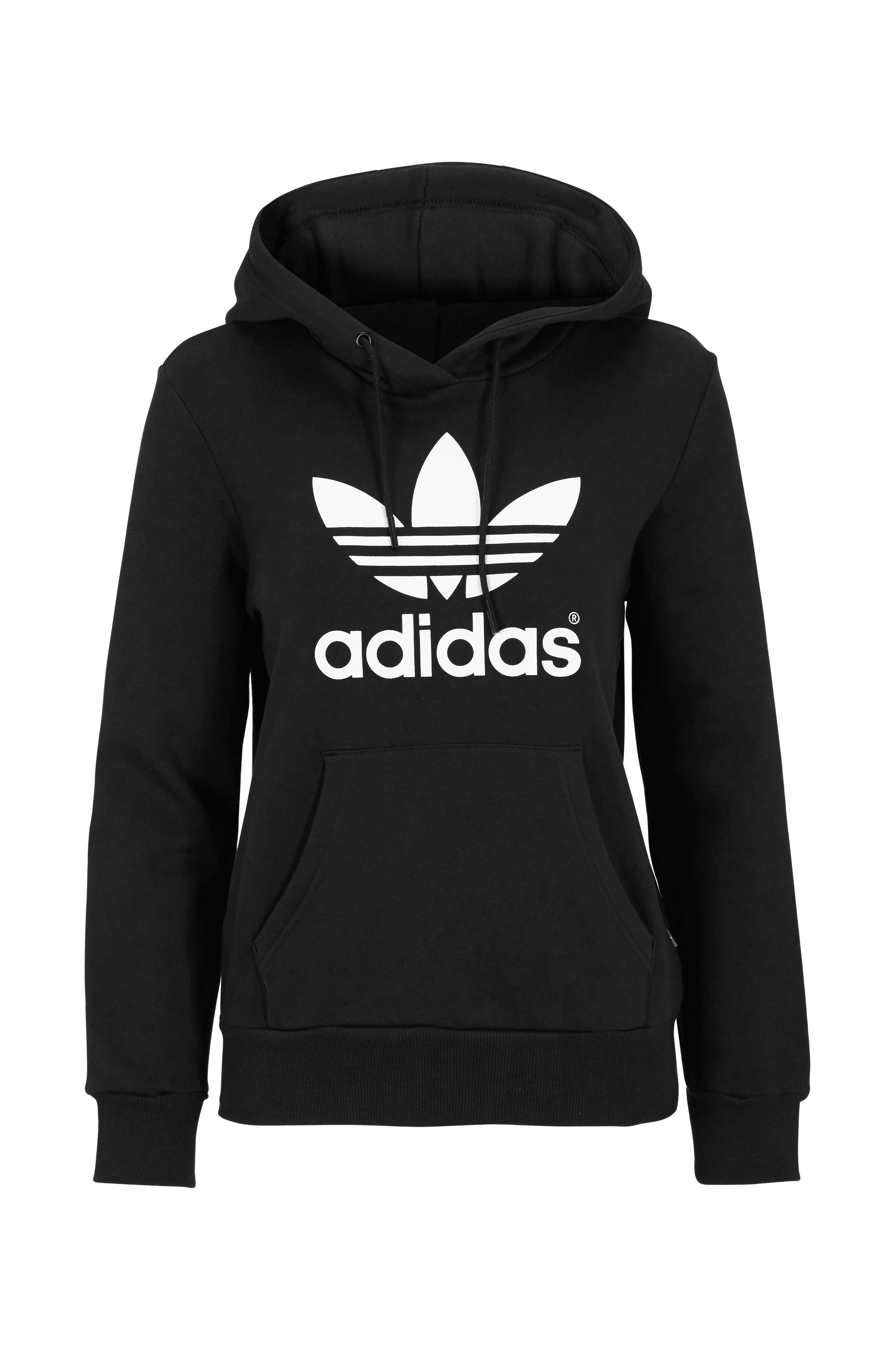 30e2f70e adidas Originals Hettegenser Trf logo hoodie - Svart - Dame - Ellos.no