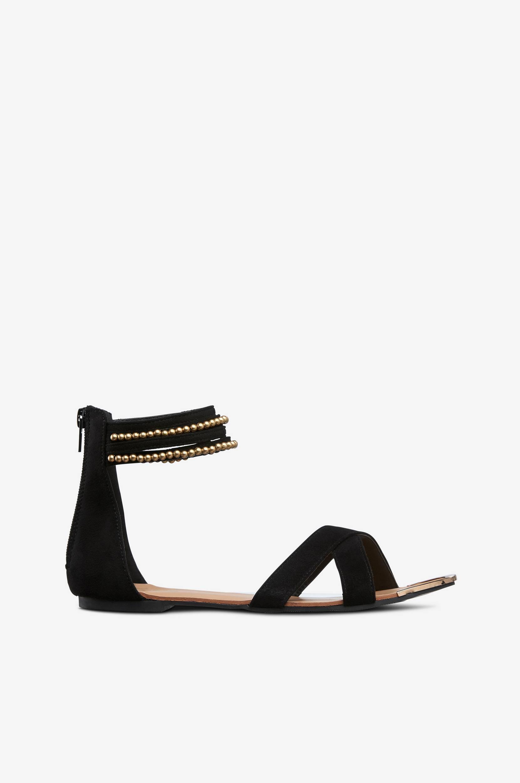 Sandal Springfield Ellos Sandaler & sandaler med hæl til Kvinder i Sort