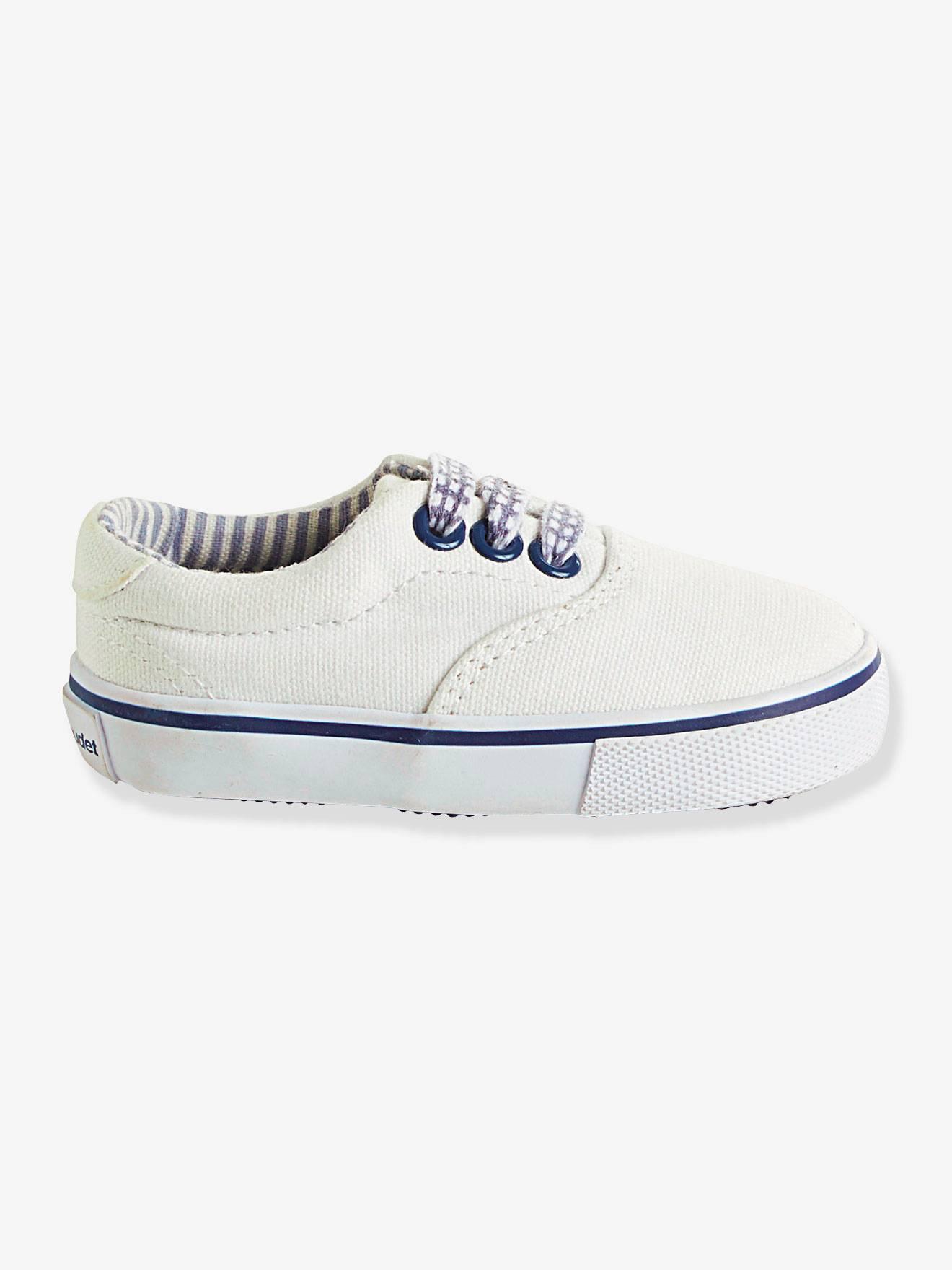 Sneakers Vertbaudet Børnesko til Børn i Hvid