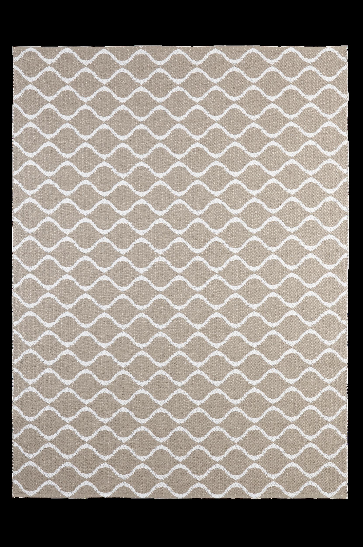 Horredsmattan - Plastmatta Wave 150x200 cm - Natur