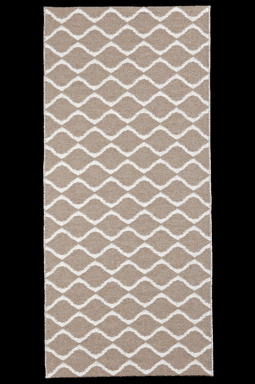 Horredsmattan - Plastmatta Wave 70x250 cm - Natur