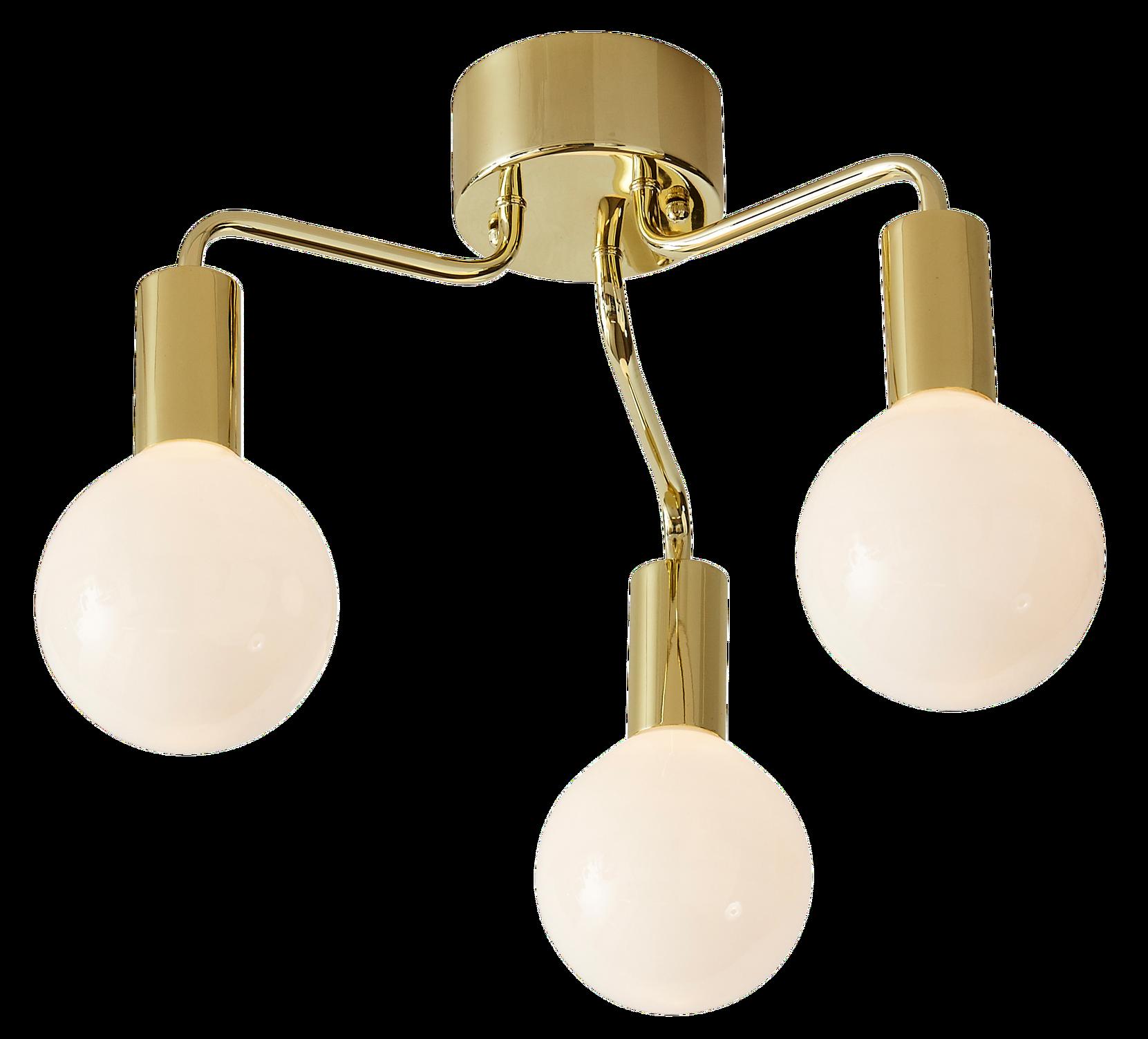 HISTORY Loftlampe 3L Markslöjd Loftlamper til Boligen i Messing