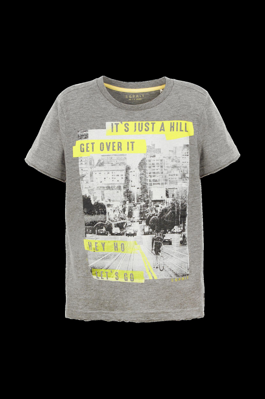 T-shirt med print Esprit T-shirts til Børn i Gråmeleret