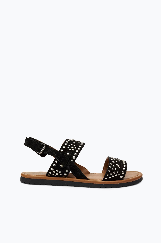 Sandal med nitter Ellos Sandaler & sandaler med hæl til Kvinder i Sort