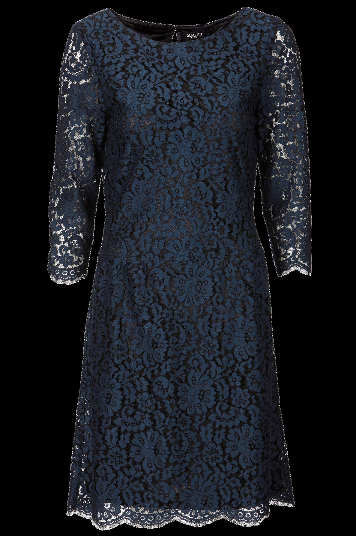Kjole i blonde Soaked in Luxury Kjoler til Kvinder i Marineblå/sort