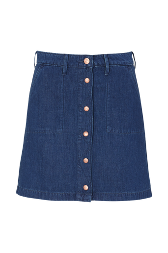Button Through Skirt -hame