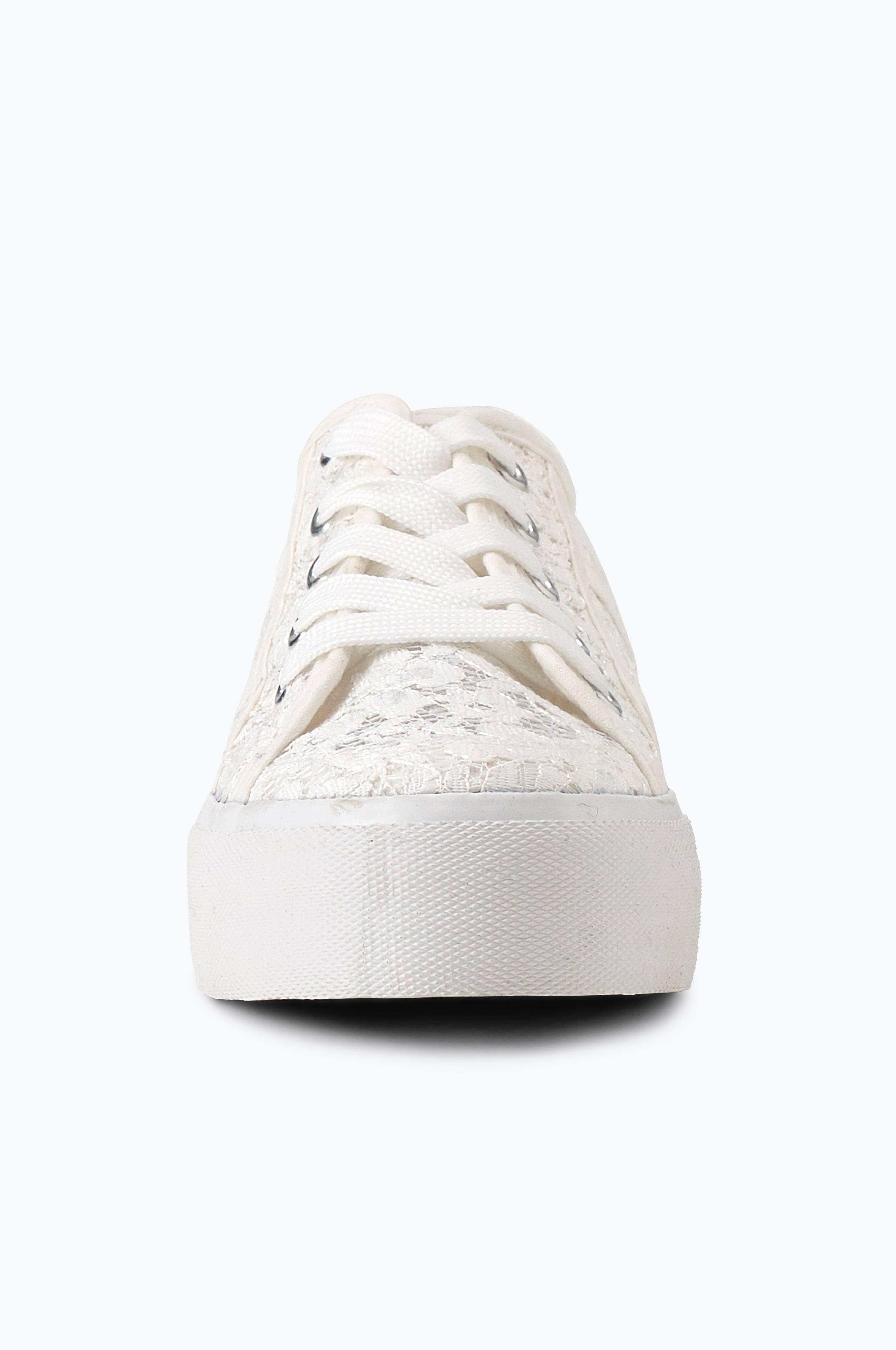Ellos Shoes Sneakers Barbro Vit Dam Ellos.se