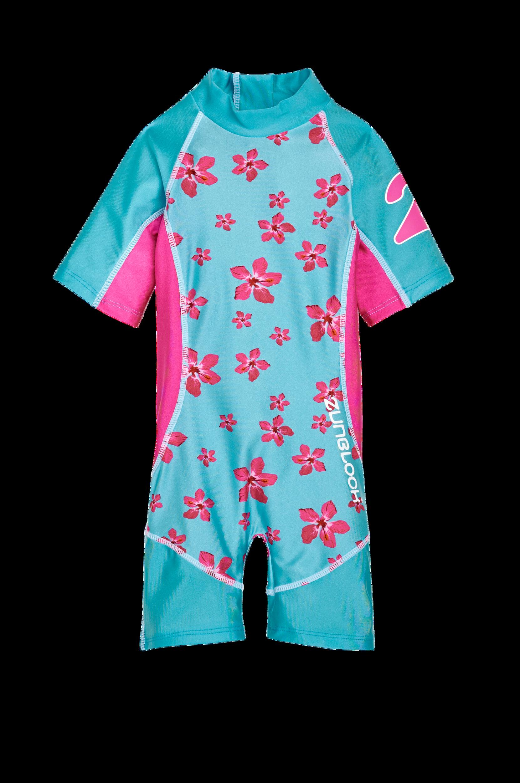 Lyhythihainen Hawaii-UV-puku