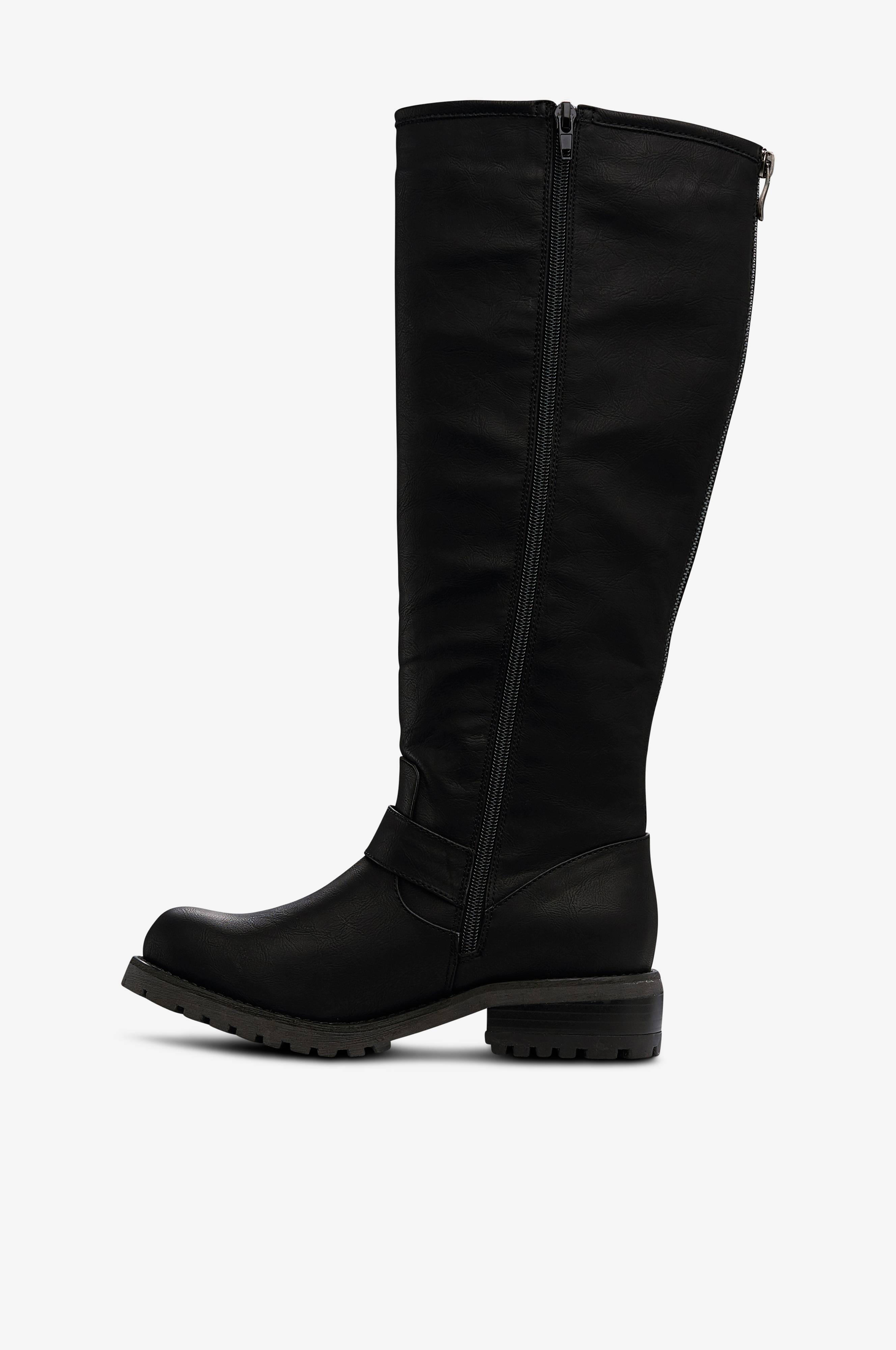 Ellos Shoes Stövlar Billie med varmfoder Svart Stövlar