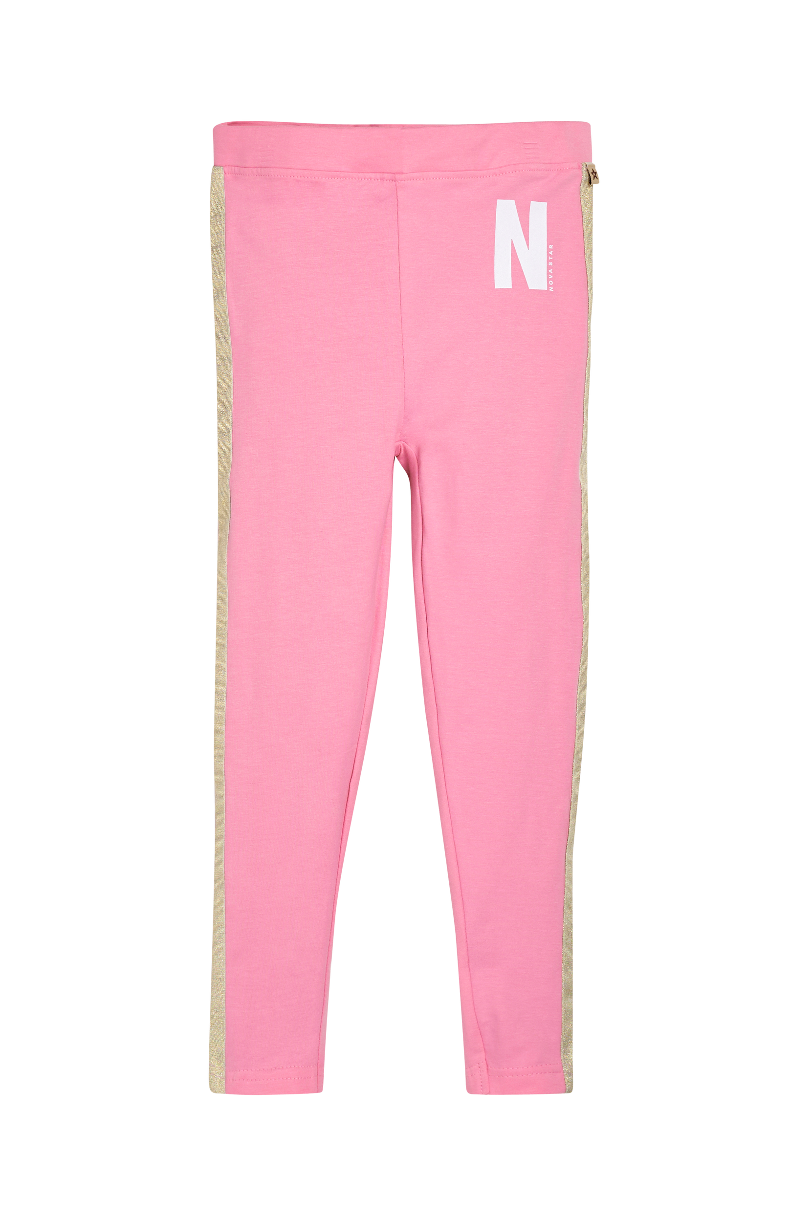 Leggingsit Pink/Gold