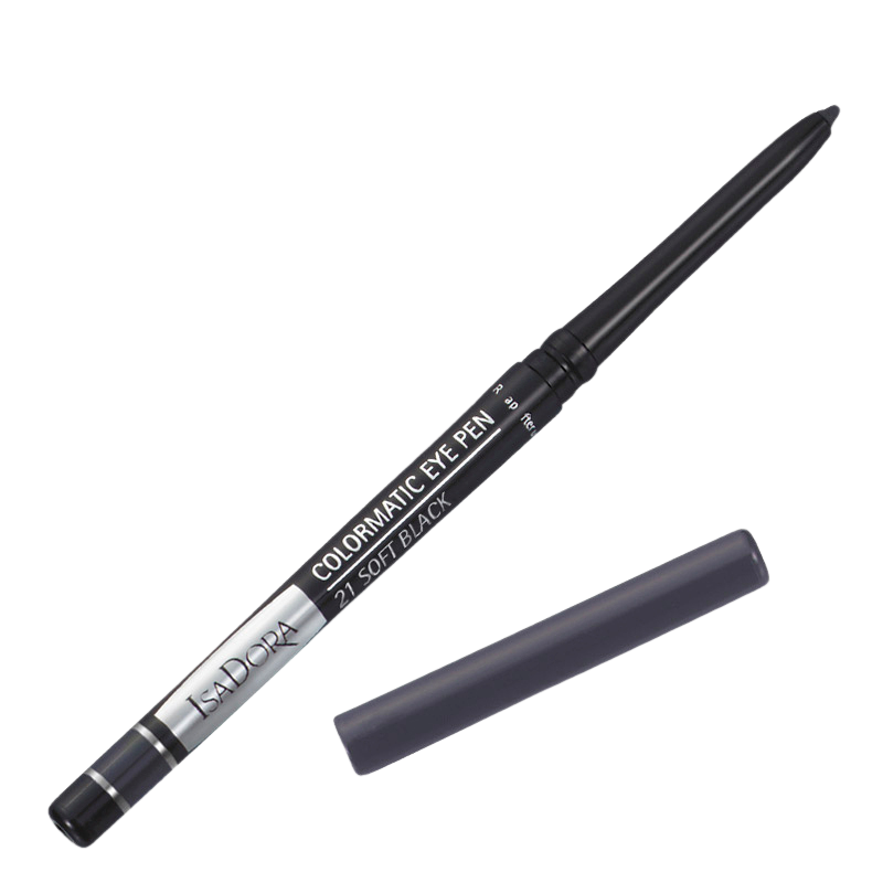 Colormatic Eye Pen IsaDora Øjne til Kvinder i Soft black