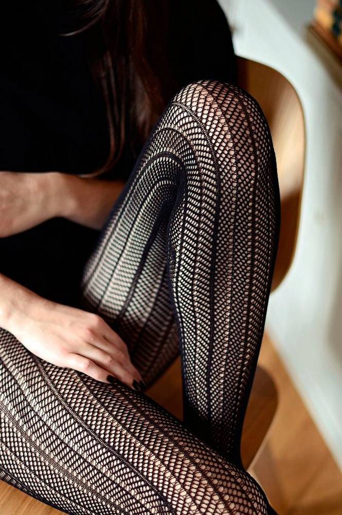 Swedish Stockings Strømpebuks Astrid Fishnet