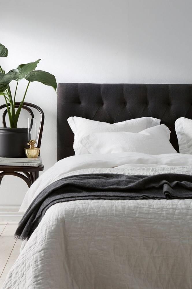 Sänggavel Stoppad 160 cm