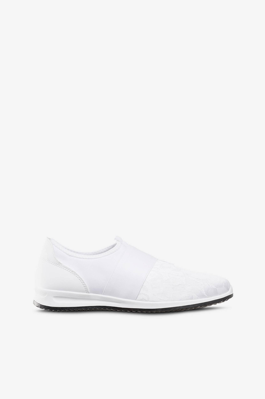 Sneakers slip-on Duffy Sneakers til Kvinder i Hvid