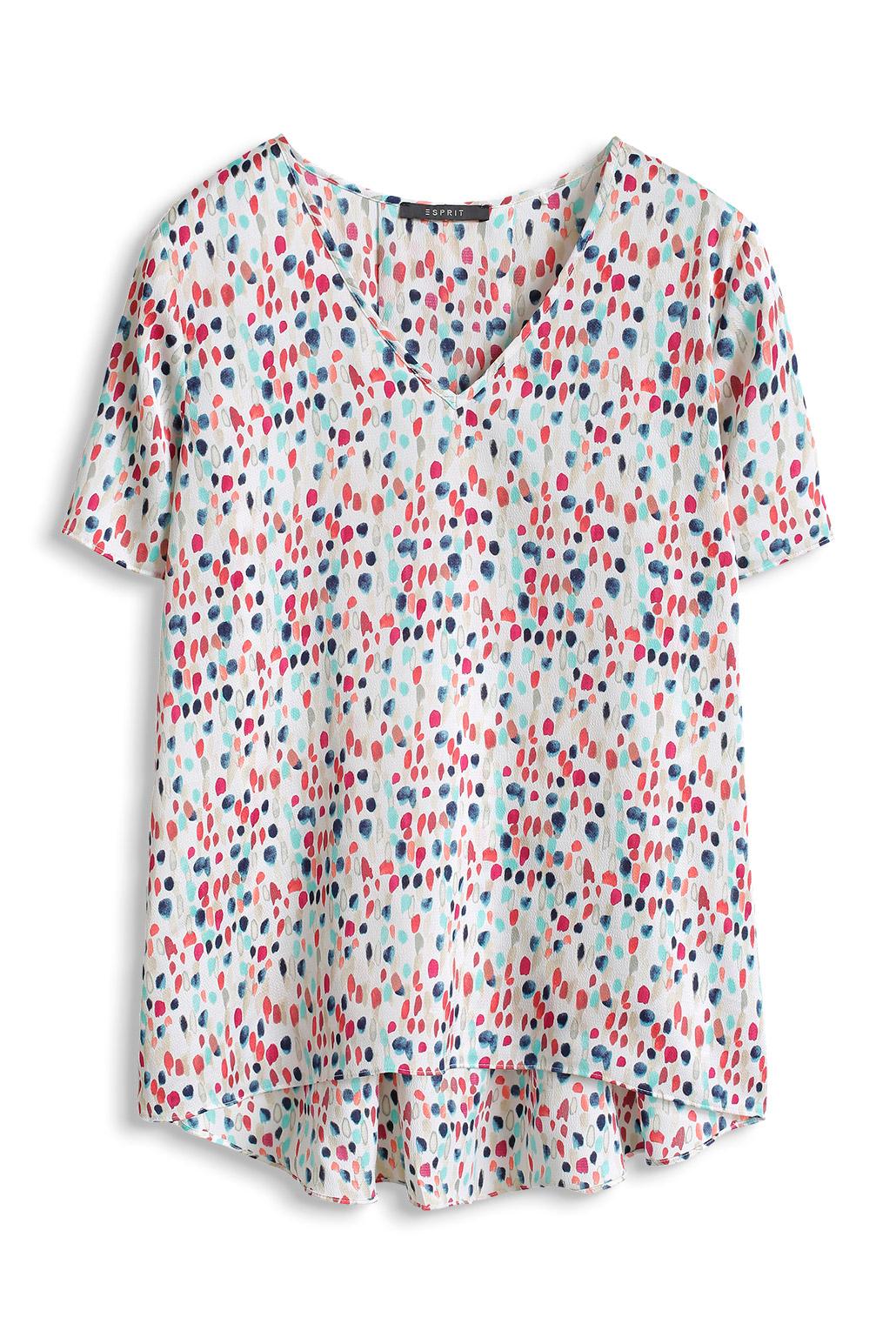 Bluse med paletmønster Esprit Skjorter & bluser til Kvinder i