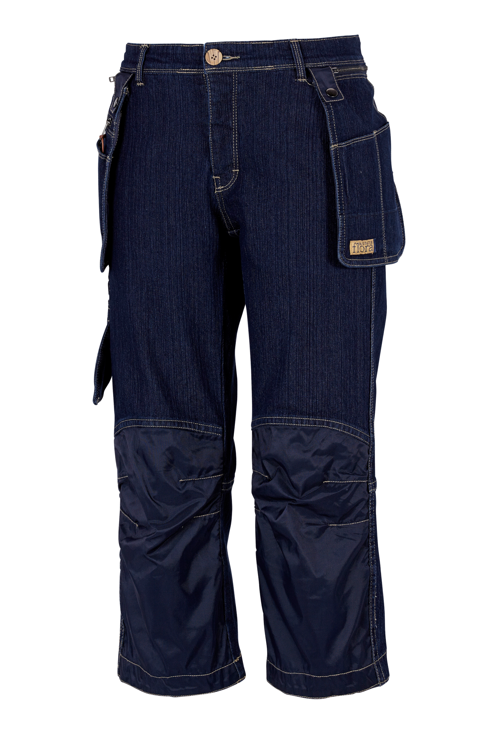 Worker Capri Pants -puutarhahousut