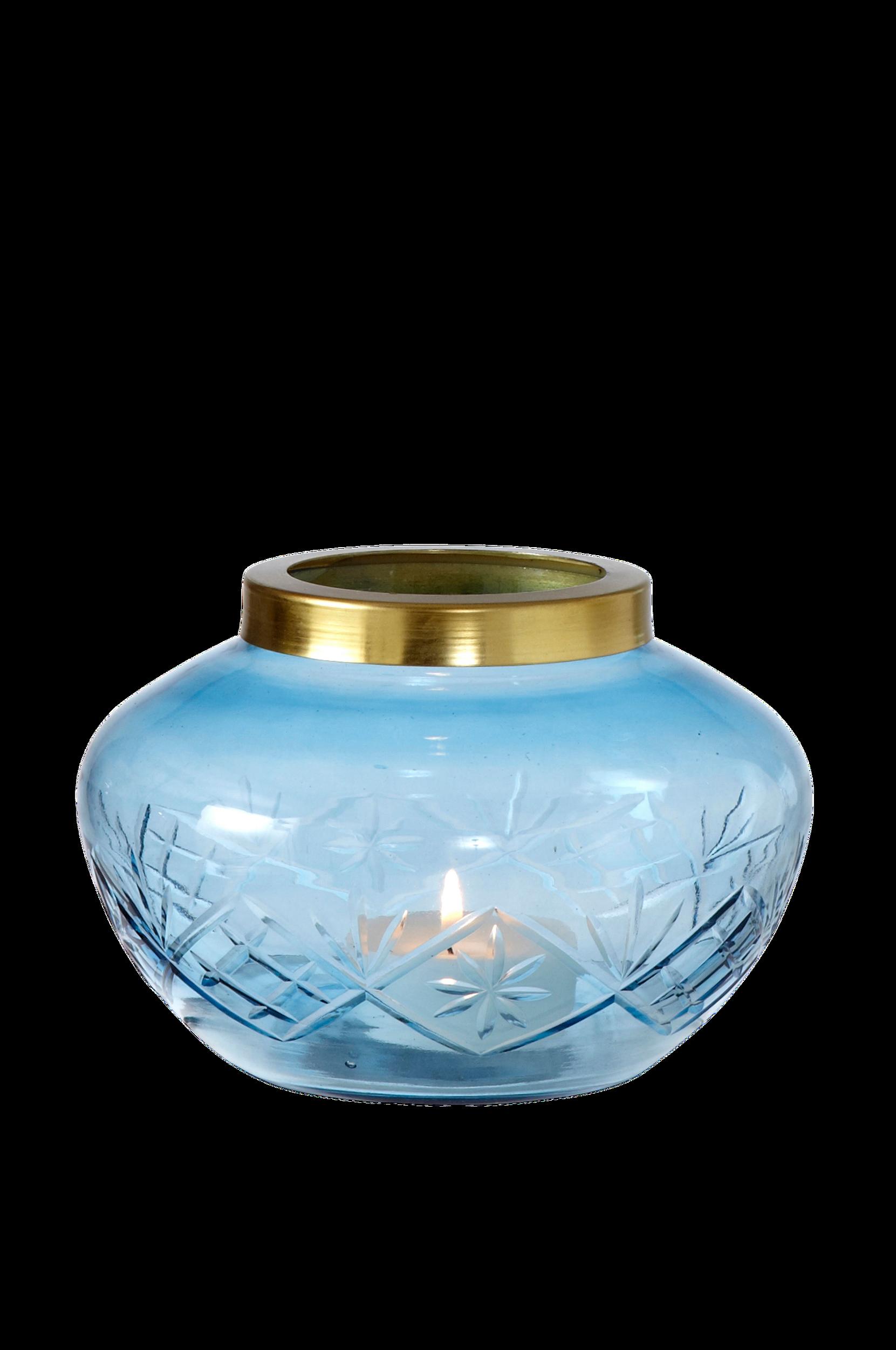 Lysestage Margrete Ellos Potteskjulere & vaser til Boligen i Blå