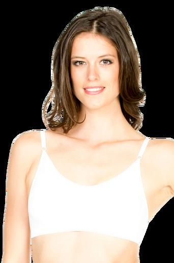 Seamless rintaliivit, joissa kapeat olkaimet